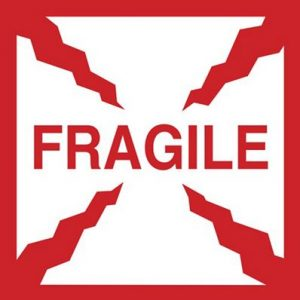 Fragile Label Large